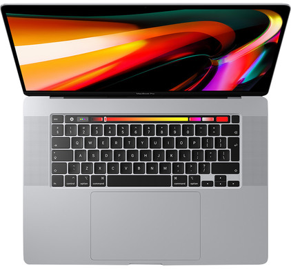 "Apple MacBook Pro 16"" Touch Bar (2019) MVVL2N/A Zilver"