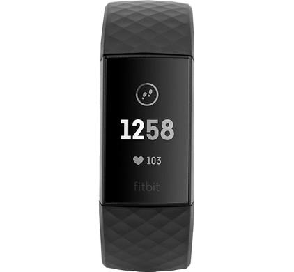 Fitbit Charge 3 Black/Graphite Aluminium
