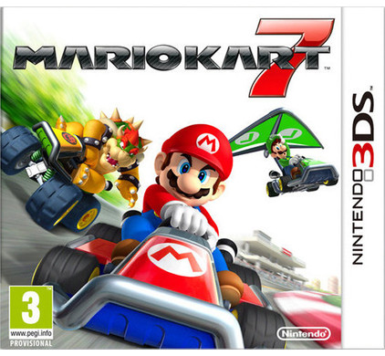 Mario Kart 7 3DS Main Image