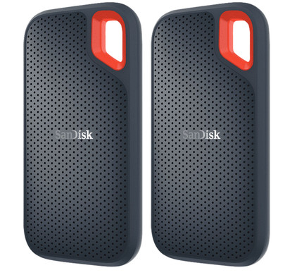 SanDisk Extreme Portable SSD 500GB Duo Pack