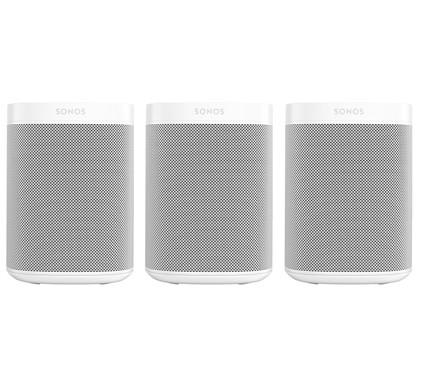 Sonos One SL 3-pack Wit