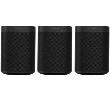 Sonos One 3-pack Zwart