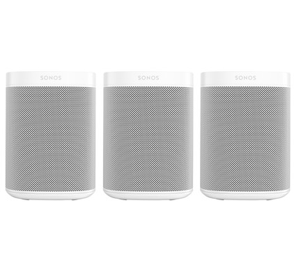 Sonos One 3-pack Wit