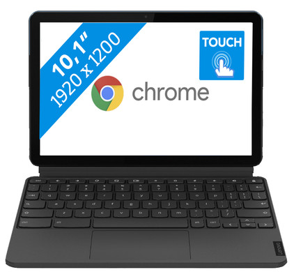 Lenovo IdeaPad Duet Chromebook Tablet 64GB- ZA6F0027NL
