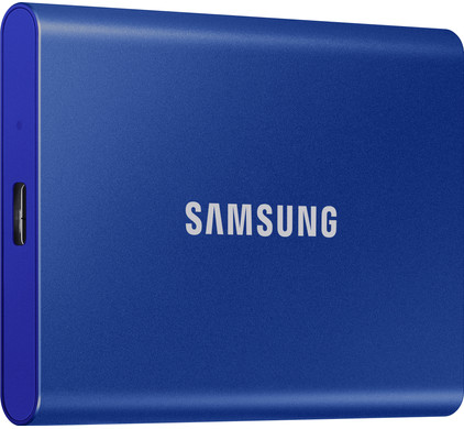 Samsung T7 Portable SSD 1TB Blauw