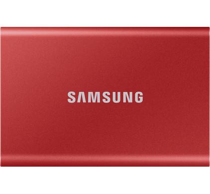 Samsung T7 Portable SSD 2TB Rood