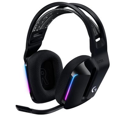 Logitech G733 LIGHTSPEED Wireless Gaming Headset Zwart