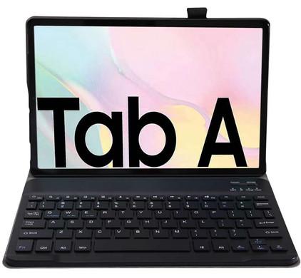 Just in Case Samsung Galaxy Tab A7 (2020) Premium Toetsenbord Hoes Zwart QWERTY