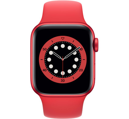 Apple Watch Series 6 40mm RED Aluminium RED Sportband