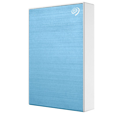 Seagate One Touch Portable Drive 5TB Blauw