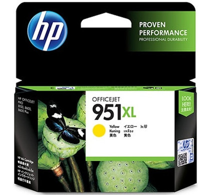 HP 951 Officejet Cartridge Geel XL (CN048AE)