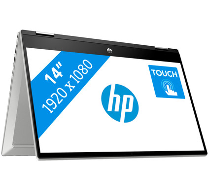 HP Pavilion x360 14-dw1900nd - 8 GB RAM, 128 GB SSD, 14 inch touchscreen