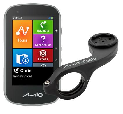 Mio Cyclo Discover Plus + Mio Cyclo Bike Mount Plus Stuurhouder