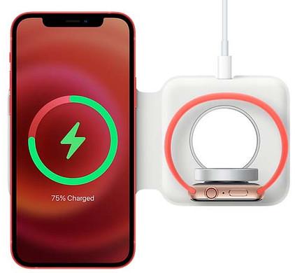 Apple Dubbele Draadloze MagSafe Oplader 15W