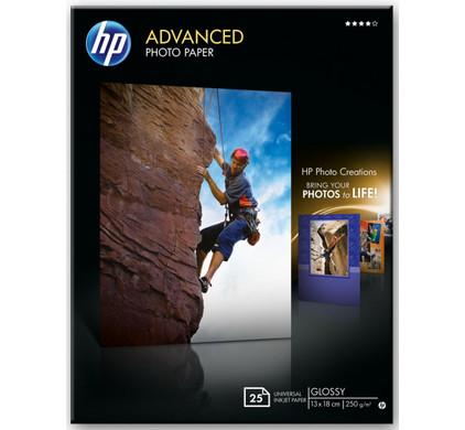 HP Advanced Glossy Fotopapier 25 vel (13 x 18)
