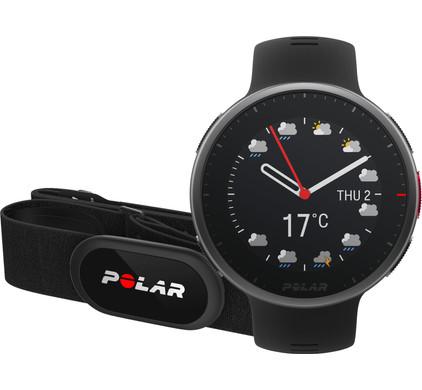 Polar Vantage V2 HR Zwart M/L