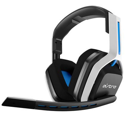 Astro A20 Draadloze Gaming Headset voor PS5, PS4, PC, Mac - Wit/Blauw