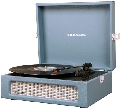 Crosley Voyager Blauw