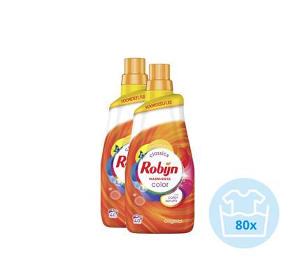 Robijn Klein & Krachtig Color Wasmiddel - Kwartaalpakket