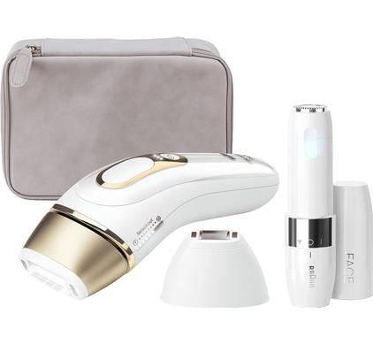 Braun Silk·expert Pro 5 PL5124 + Braun FS1000 gezichtsonthaarder