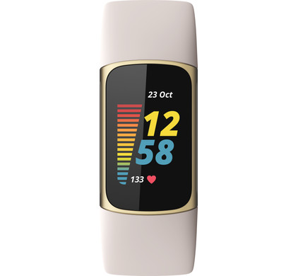 Fitbit Charge 5 Wit/Goud