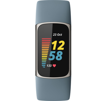 Fitbit Charge 5 Blauw/Zilver