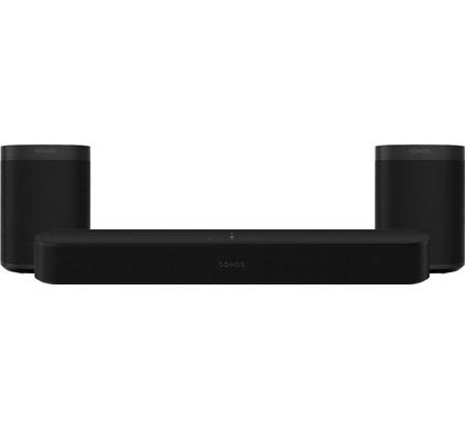 Sonos Beam Gen. 2 Zwart 5.0 + One (2x)