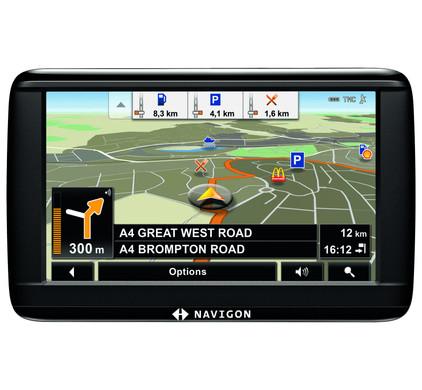 Navigon 42 Essential + Tas + Thuislader + Dashboard Donut