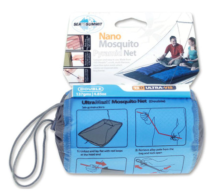Sea to Summit Nano mosquito Net Double