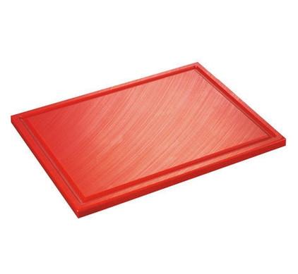 Inno Cuisinno Horeca Chopping board with crease 32,5 cm Red Main Image