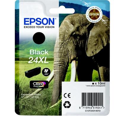 Epson 24 XL Inktcartridge Zwart C13T24314010 Packaging