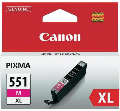 Canon CLI-551M XL Inktcartridge Magenta (6445B001)