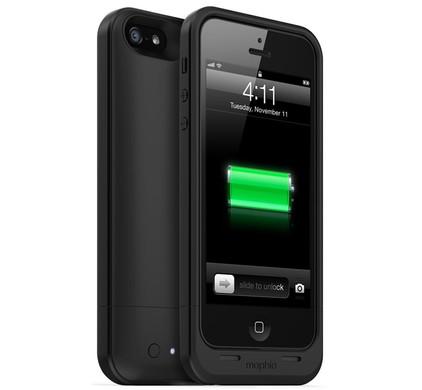 mophie Juice Pack Air Apple iPhone 5 / 5S Zwart