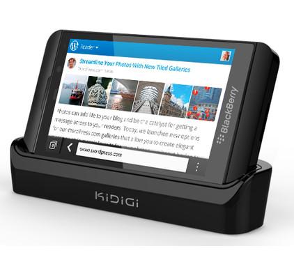 KiDiGi Dockingstation HDMI Blackberry Z10 + HDMI Kabel