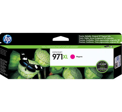 HP 971XL Magenta Ink Cartridge (CN627AM)