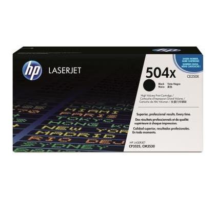 HP 504X LaserJet Toner Zwart XL (CE250X)