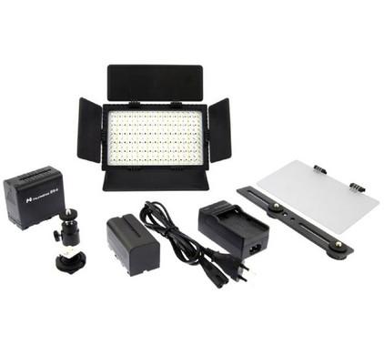 Falcon Eyes LED Lamp Set Dimbaar DV-216VC-K2 incl. Accu
