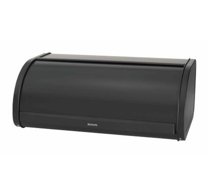 Brabantia Bread bin with sliding lid Matt Black Main Image