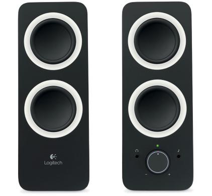 Logitech Z200 2.0 Speakersysteem + Bluetooth Adapter