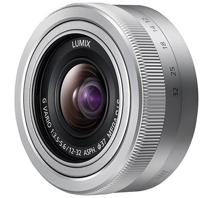 Panasonic Lumix G 12-32mm f/3.5-5.6 zilver