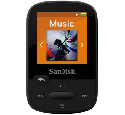Sandisk Sansa Clip Sports 8GB zwart