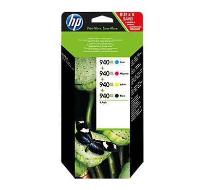 HP 940XL Combo Pack 4-Kleuren (C2N93AE)