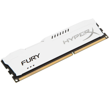 Kingston HyperX FURY 4GB DDR DIMM 1600 MHz Wit (1x4GB)