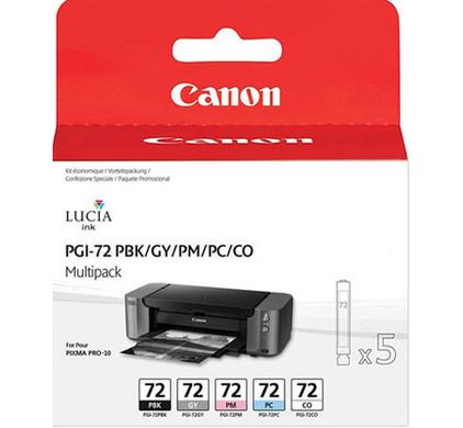Canon PGI-72 Value Pack A 5-Kleuren (6431B001)
