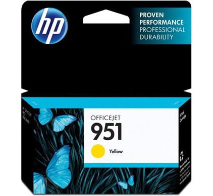 HP 951 Cartridge Geel (CN052AE)