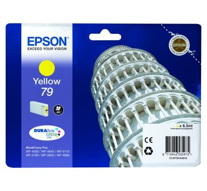 Epson 79 Cartridge Geel C13T79144010