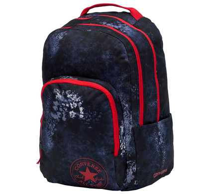 f08d2240170 Converse All In LG Backpack Converse Navy Wash Print - Coolblue - Voor  23.59u, morgen in huis