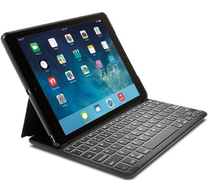 Kensington KeyFolio Thin X2 Plus Apple iPad Air Azerty Zwart