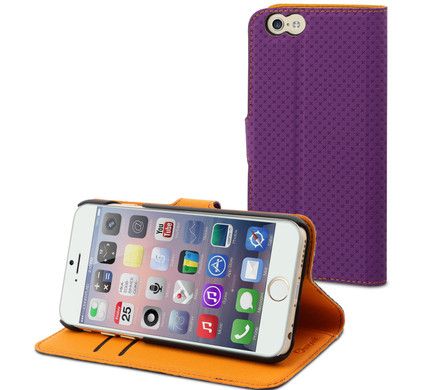 Muvit Wallet Case Apple iPhone 6 Paars