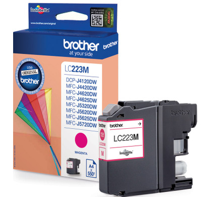 Brother LC-223M Cartridge Magenta